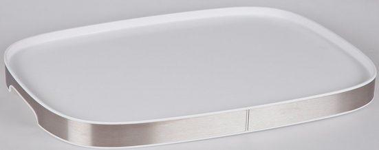 Bischof Tablett, Kunststoff, (1-tlg), mit Antirutschauflage