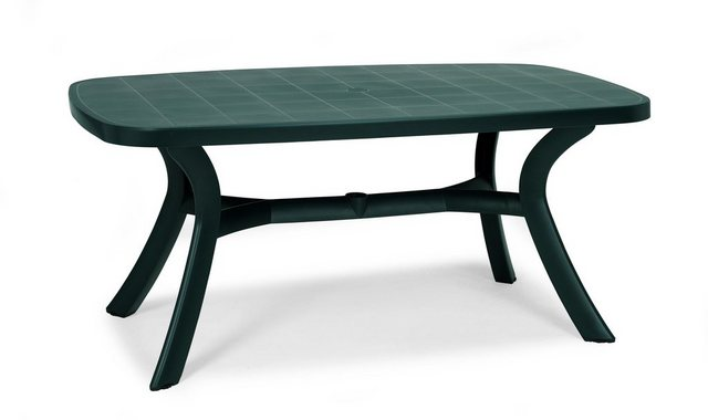 Best Tisch Kansas 192 cm x 105 cm grün