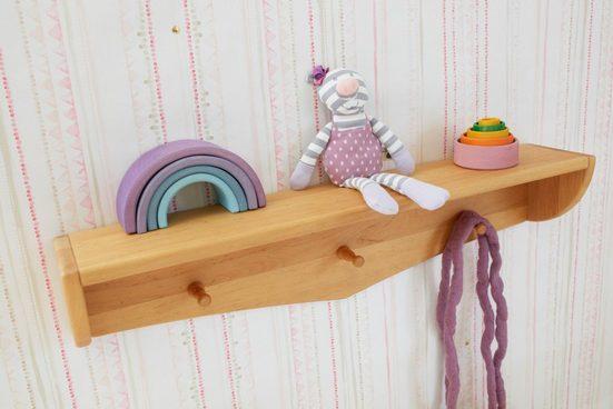 BioKinder - Das gesunde Kinderzimmer Wandboard »Luca«, Hängeregal 84 x 15 x 14 cm