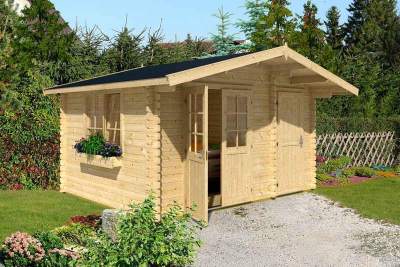 Nordic Holz Gartenhaus »Borkum 2«, BxT: 410x320 cm