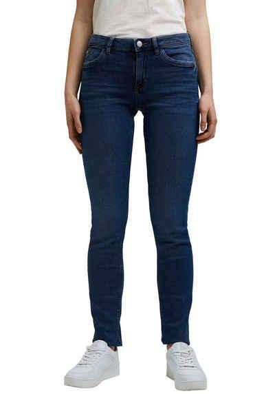 edc by Esprit Skinny-fit-Jeans mit coolen Washed Out- und Used-Effekten