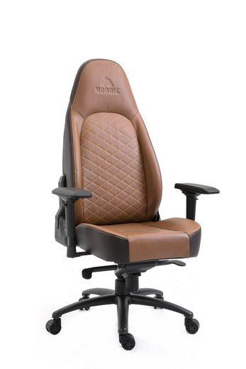 ebuy24 Gaming Chair »Nordic Executive Gamin Stuhl braun.«
