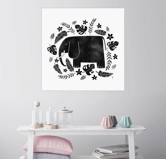 Posterlounge Wandbild, Elephant