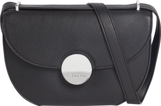 Calvin Klein Umhängetasche »CK LUXE EW SHOULDER BAG«, mit silberfarbenen Details