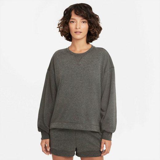 Nike Sweatshirt »Nike Yoga French Terry Fleece Women's Top«