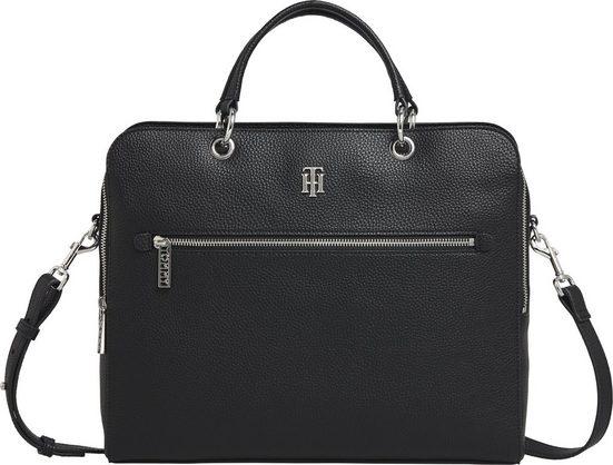 TOMMY HILFIGER Messenger Bag »TH ESSENCE COMPUTER BAG«, in schlichter Optik
