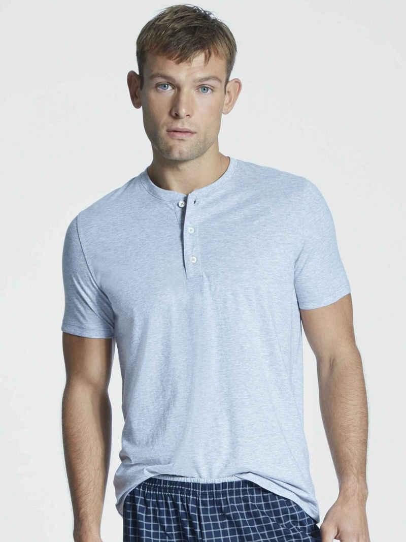 Mey Kurzarmshirt »Kurzarm-Shirt mit Knopfleiste« (1-tlg)