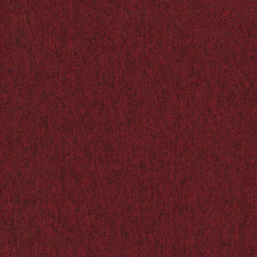 Teppichfliese »Neapel«, quadratisch, Höhe 6 mm, rot, selbstliegend
