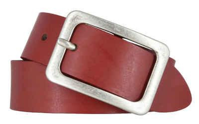 Vanzetti Ledergürtel »Vanzetti Damengürtel rot 35 mm Ledergürtel«