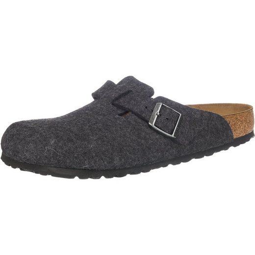 Birkenstock »Boston Wollfilz Weit Wolle Pantoletten normal« Pantolette