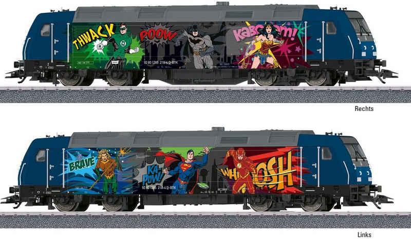 Märklin Diesellokomotive »BR 285 Superhelden - 36656«, Spur H0, mit Licht und Sound; Made in Europe