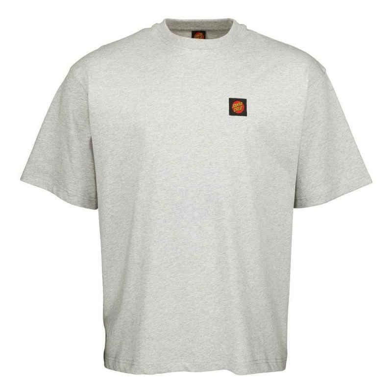 Santa Cruz T-Shirt »Classic Label - heather grey«