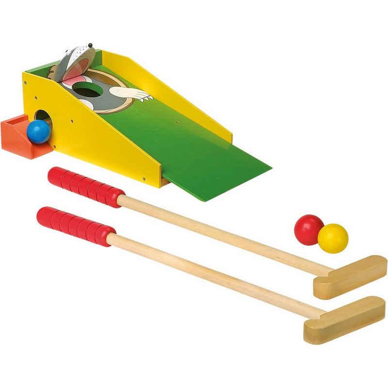 "Small Foot Spielzeug-Gartenset »Minigolf ""Maulwurf"" aus Holz«"