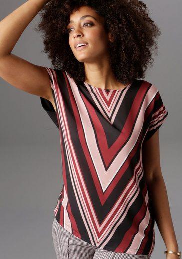 Aniston SELECTED T-Shirt im modischen Streifen