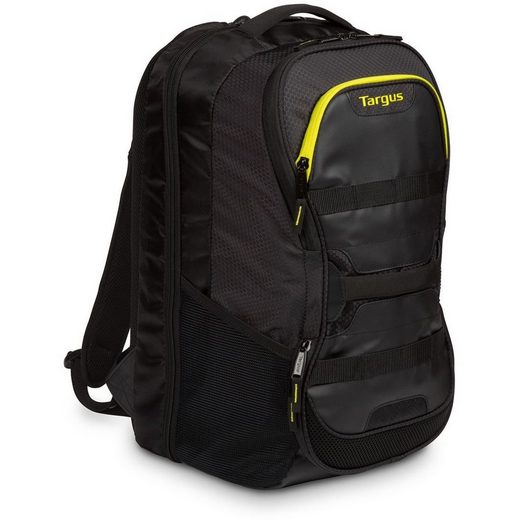 Targus Laptoptasche »Work & Play Fitness 39,62 cm (15.6) Laptop Backpack Black / Yellow«