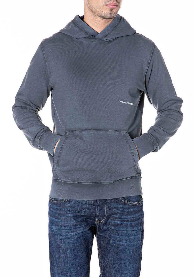 Replay Kapuzensweatshirt mit kleinem Logoprint