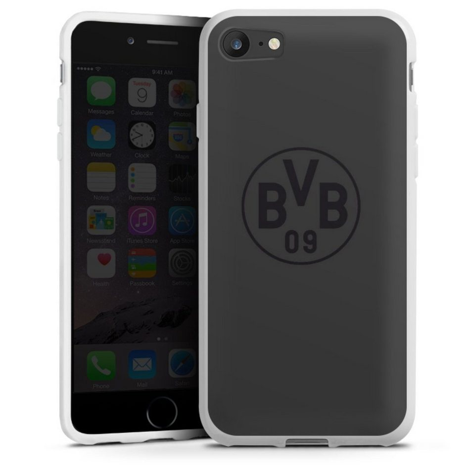 DeinDesign Handyhülle »BVB Grau« Apple iPhone SE (2020 ...