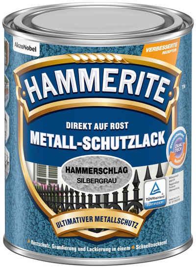 Hammerite Metallschutzlack »Hammerschlag«, 0,75 Liter, grau