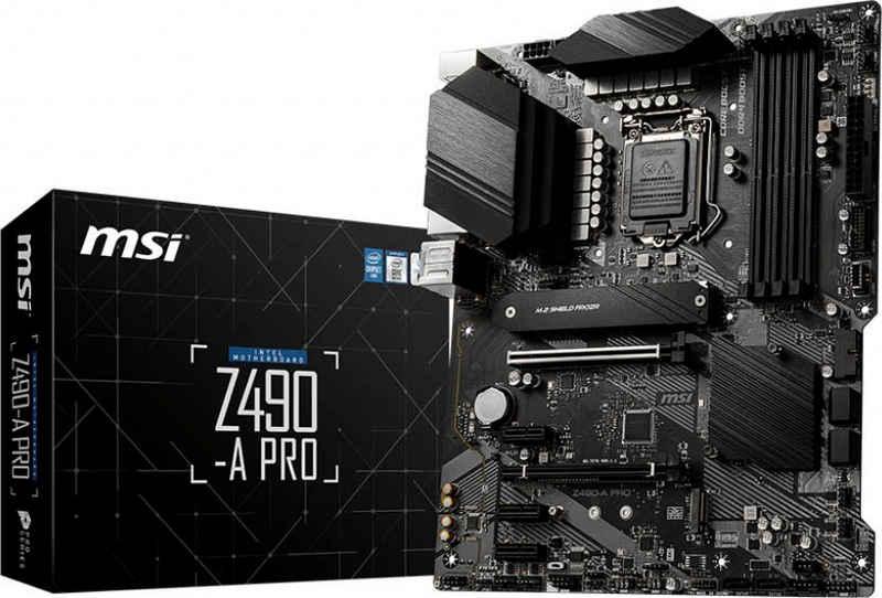 MSI »Z490-A PRO« Mainboard RGB-LED-Lichtleiste