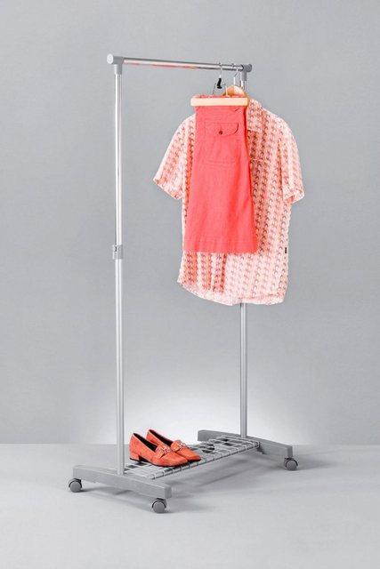 Kleiderständer und Garderobenständer - ZELLER Kleiderständer »Roll Kleiderständer, mit Ablage«  - Onlineshop OTTO