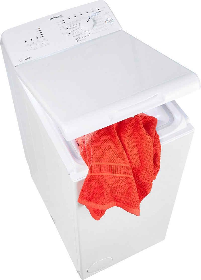 Privileg Waschmaschine Toplader PWT L50300 DE/N, 5 kg, 1000 U/min