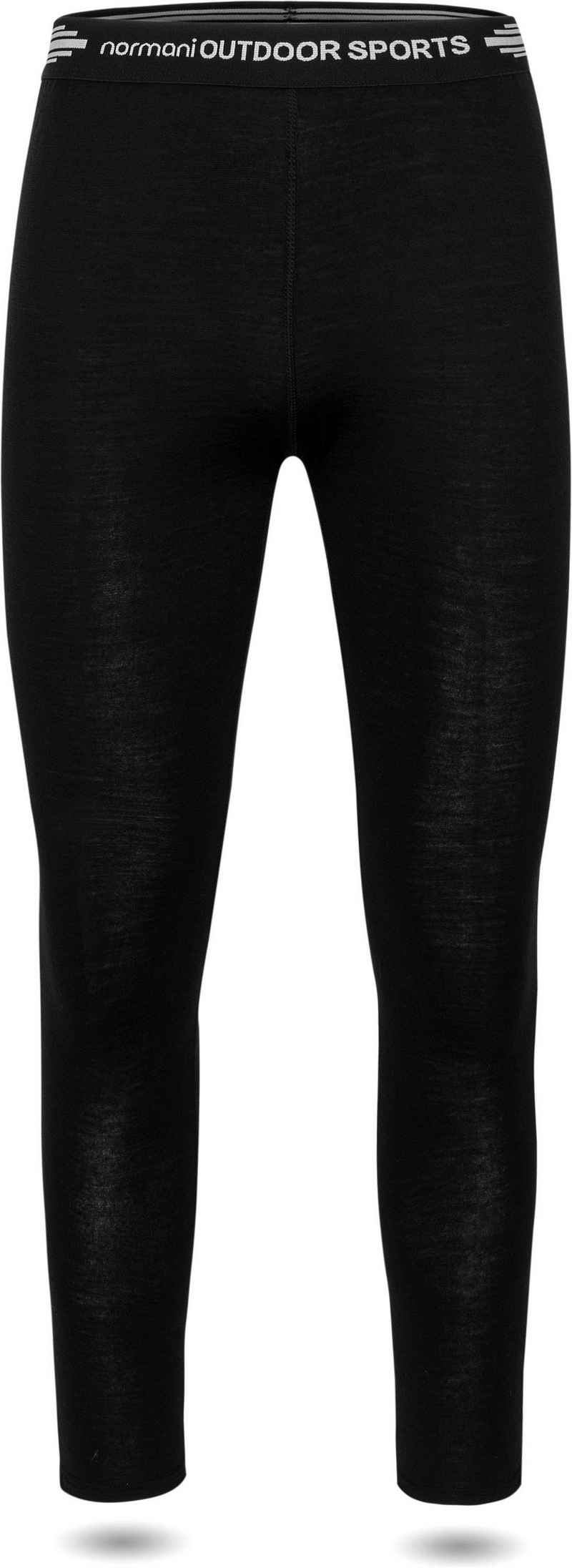 normani Thermounterhose »Damen Merino Unterhose Perth« Thermohose Funktionshose Winter-Unterziehhose - 100% Merinowolle