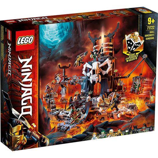 LEGO® Konstruktions-Spielset »LEGO® NINJAGO® 71722 Verlies des Totenkopfmagiers«