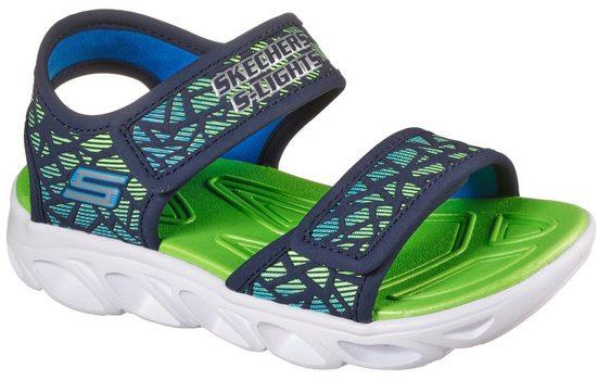 Skechers Kids »HYPNO-SPLASH« Sandale mit praktischen Klettverschlüssen