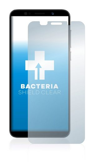 upscreen Schutzfolie »für Lenovo A5«, Folie Schutzfolie klar antibakteriell