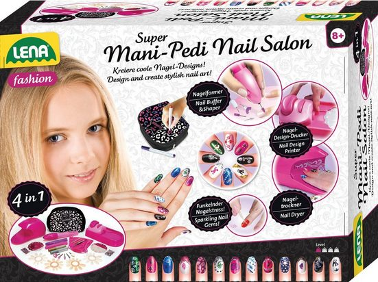 Lena® Kreativset »Fashion, Super Mani-Pedi Nail Salon«