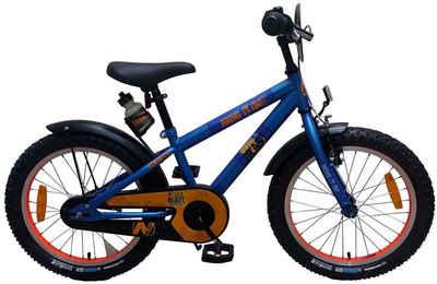 Volare Kinderfahrrad »18 Zoll Fahrrad Disney Kinder Jungen Fahrrad Kinderfahrrad Jungenfahrrad Rad Bike Rücktrittbremse Rücktritt NERF Blau 21875 Volare«, Rücktrittbremse