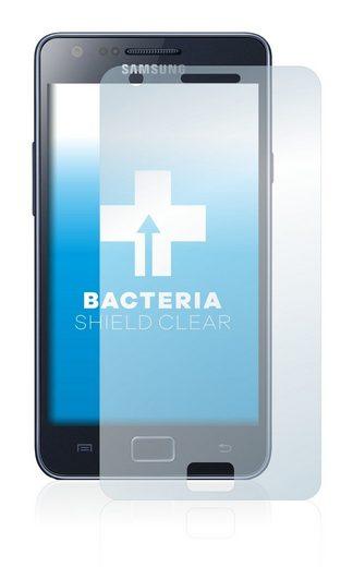 upscreen Schutzfolie »für Samsung Galaxy S2 G I9100G«, Folie Schutzfolie klar antibakteriell