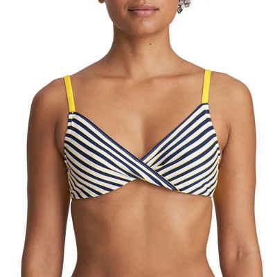 Marie Jo Bügel-Bikini-Top »Manuela Bikini Top mit Schale«, Mit gemoldeten Cups, Angenehm auf der Haut, Verstellbare Träger