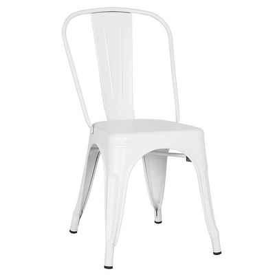 Masbekte Esszimmerstuhl »Gartenstuhl« (Set, 4 Stück), Navy Stühle, Metallstühle, Strandstühle, aus Metall