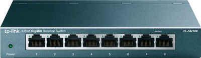 TP-Link »TL-SG108 8-Port Gigabit Desktop Switch« Netzwerk-Switch