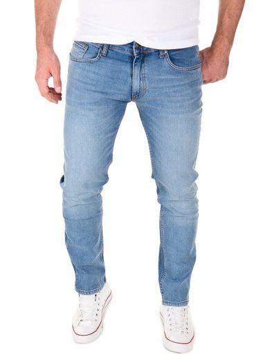 Yazubi Slim-fit-Jeans »Akon Herren Jeans« modernen Slim Fit Jeanshose mit Stretch