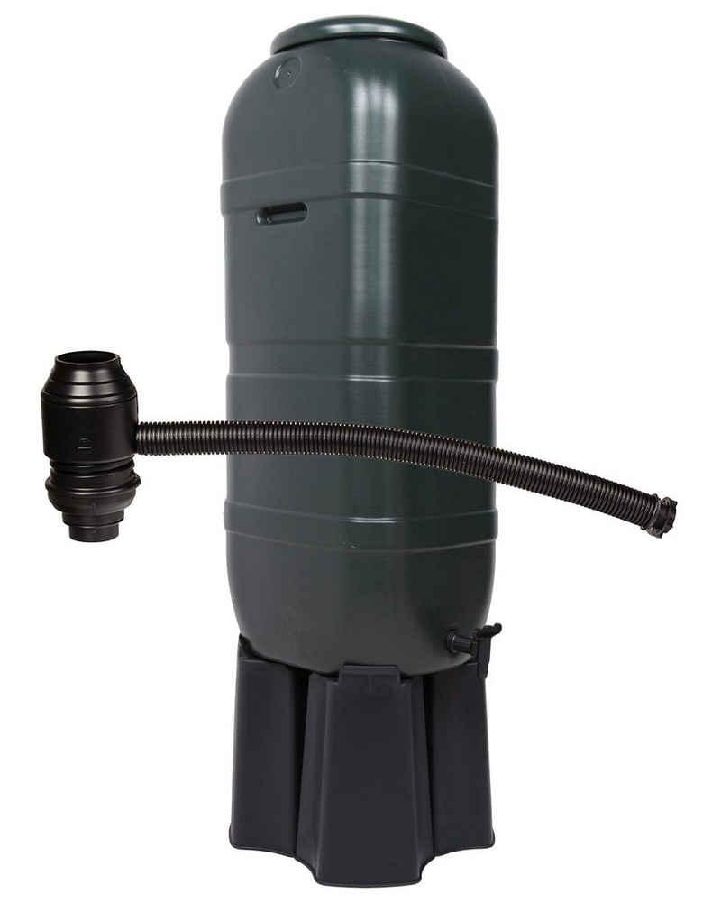 ONDIS24 Regentonne »Regentonne Wassertonne Gieswasserbehälter Regenbehälter, für Balkone und Terrasse, 100 Liter«, 100 l
