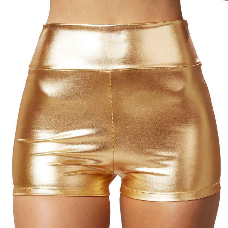 dressforfun Hotpants »Metallic-hotpants« (1-tlg)