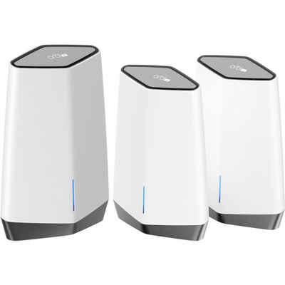 NETGEAR »Orbi Pro WiFi 6 Tri-Band AX6000 WLAN-System« WLAN-Router