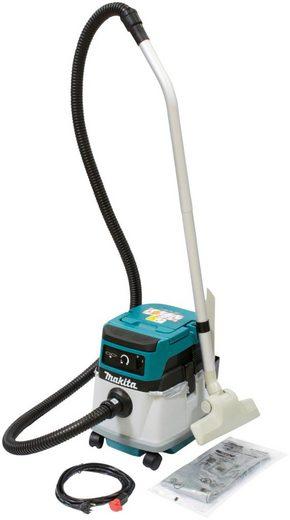 Makita Nass-Trocken-Akkusauger DVC150LZ, 320 Watt, mit Beutel, 15 l