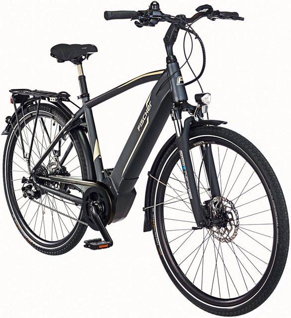 FISCHER FAHRRAEDER E-Bike Trekking Herren »VIATOR 5.0 i«, 28 Zoll, 10 Gang, Mittelmotor, 418 Wh*