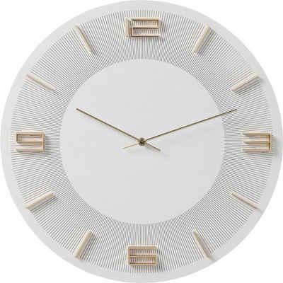KARE Uhr »Wanduhr Leonardo WeißGold«