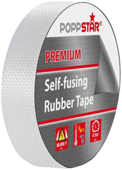 Poppstar Isolierband (1-St) Premium selbstverschweißendes Isolierband 5m x 19mm x 0,76mm, schwarz