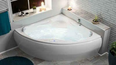 Emotion Whirlpool-Badewanne »Enjoy Whirlpool Set mit der Befüllung über den«