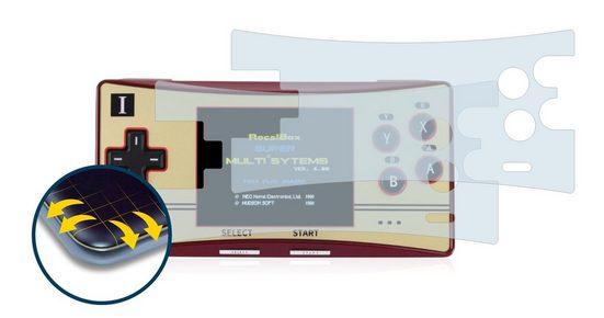 BROTECT Schutzfolie »für Waveshare GPM280«, (2 Stück), Full-Cover 3D Curved klar