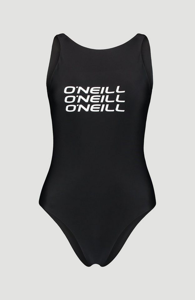 Bademode - O'Neill Badeanzug »Logo« › schwarz  - Onlineshop OTTO