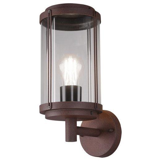 click-licht Deckenleuchte »Wandleuchte Tanaro in Rostfarbig E27«, Aussenlampe, Aussenwandleuchte, Outdoor-Leuchte