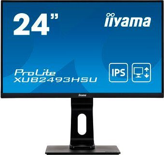 "Iiyama XUB2493HSU-B1 LED-Monitor (60,5 cm/23,8 "", 1920 x 1080 Pixel, Full HD, 4 ms Reaktionszeit, 60 Hz, IPS-LED)"