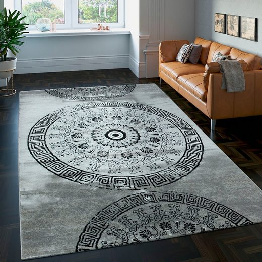 Teppich »Rest Tibesti 447«  Paco Home  rechteckig  Höhe 16 mm  Kurzflor mit wohnlichem Design