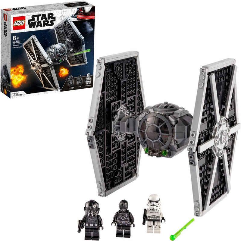 LEGO® Konstruktionsspielsteine »Imperial TIE Fighter™ (75300), LEGO® Star Wars™«, (432 St), Made in Europe